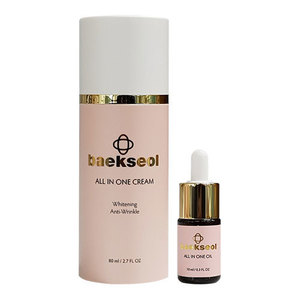 BAEKSEOL-All In One Oil+Cream SET